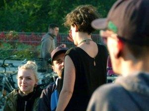 Teresa Trabert die Macherin der regio polis im Gespräch (c) FRank Koebsch (2)
