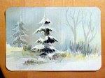 (15) Zum Abschluß noch einige Nuancen in Dunkelrot - Frank Koebsch malt ein Weihnachtsaquarell