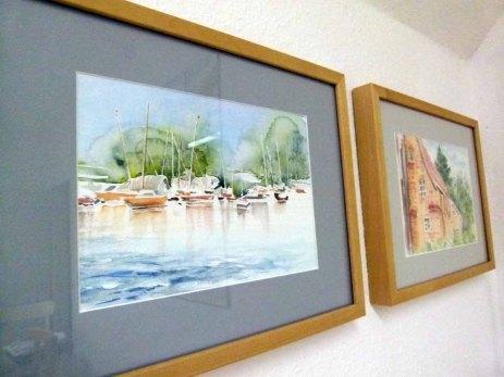 Aquarelle von Max Struwe (c) Frank Koebsch (3)