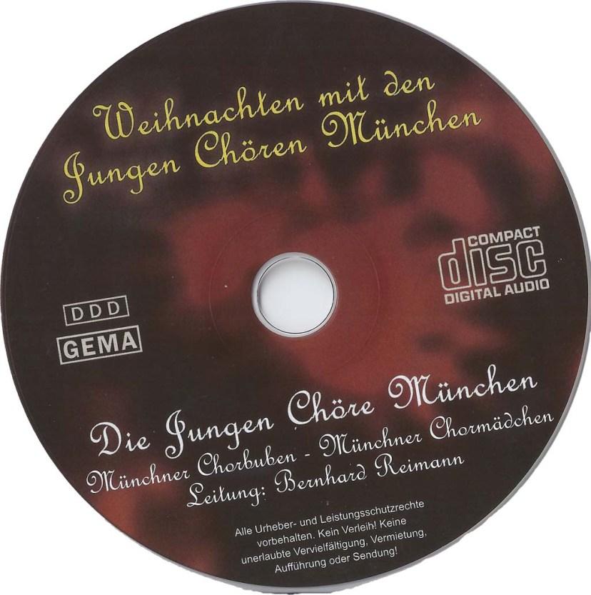 CD - Weihnachten mit den Jungen Chören München