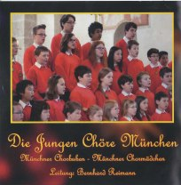 Cover der CD - Weihnachten mit den Jungen Chören München Rückseite