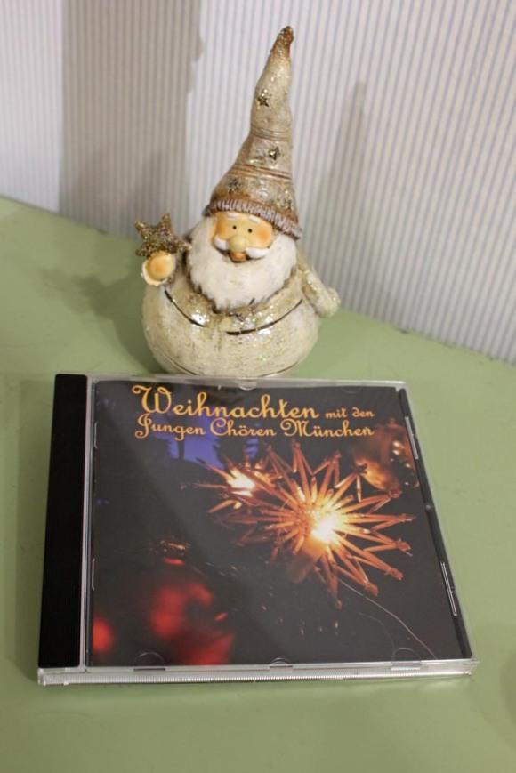 Ein tolles Weihnachtsgeschenk die CD - Weihnachten mit den Jungen Chören München