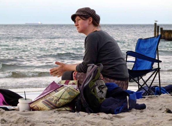 ganz entspannt am Strand von Nienhagen (c) FRank Koebsch (4)