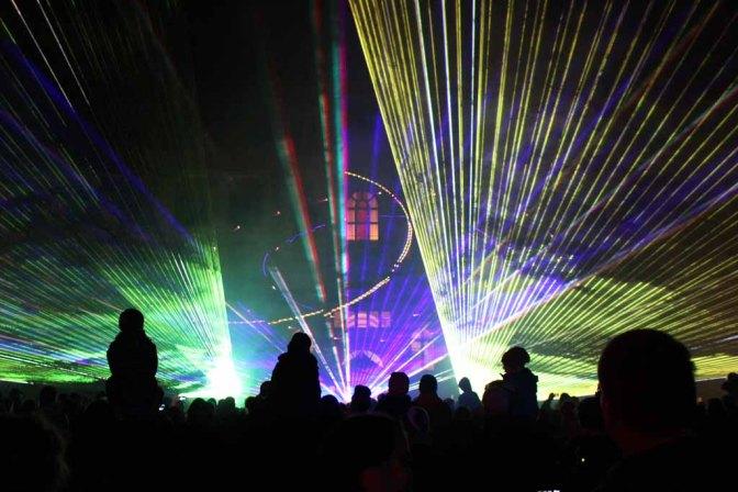 Lasershow während der Rostocker Lichtwoche (c) Frank Koebsch (3)