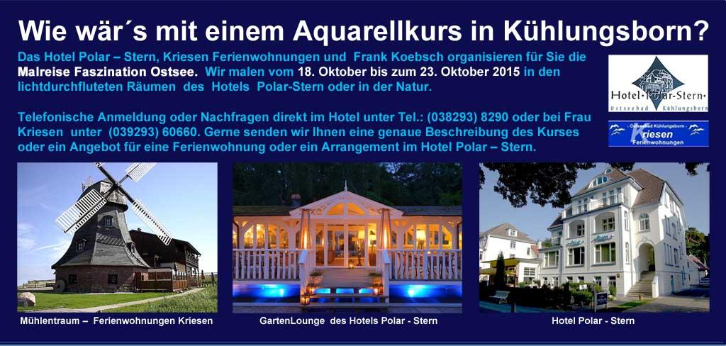 Malreise Faszination Ostsee 2015