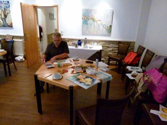 Malreise Faszination Ostsee - Wir malen Herbstblätter (c) Frank Koebsch (1)