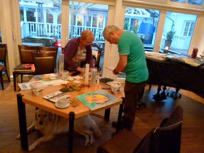 Malreise Faszination Ostsee - Wir malen Herbstblätter (c) Frank Koebsch (3)