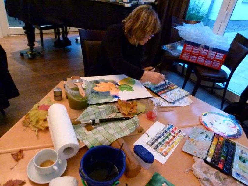 Malreise Faszination Ostsee - Wir malen Herbstblätter (c) Frank Koebsch (4)