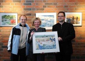 Max Struwe in unserer Ausstellung im Haus der SWR 2008 (c) Joachim Kloock (2)