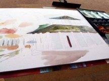 Regentropfen auf der Farkskisse vom Doberaner Kamp (c) Frank koebsch (2)
