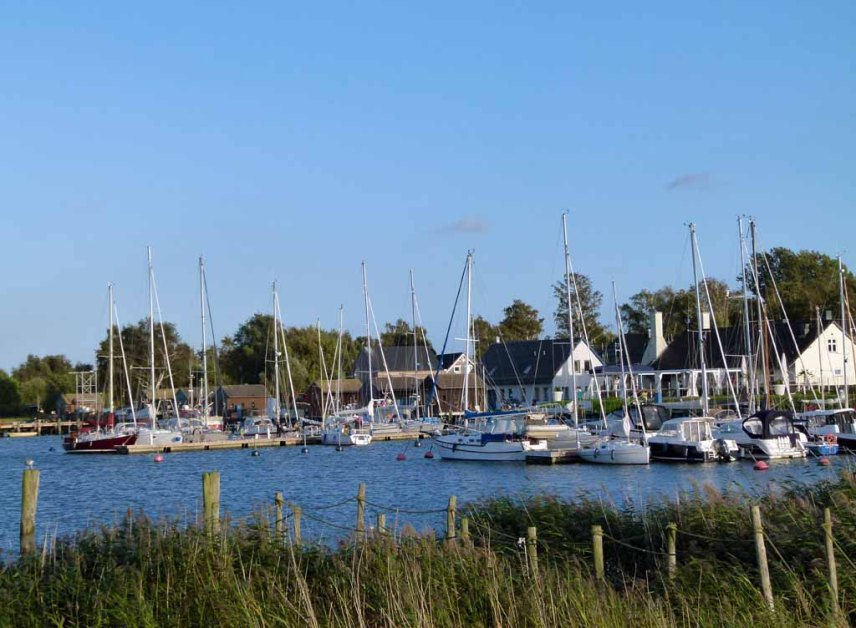 Segelboote im Hafen von Gager (c) FRank Koebsch (2)