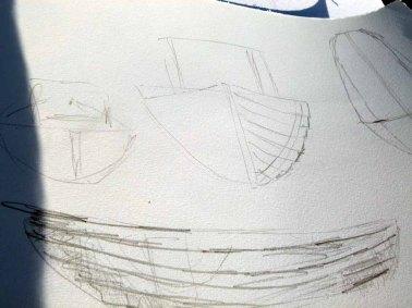 Skizzen für Boote und Kutter (c) FRank Koebsch