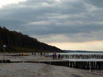 Wetterumschwung am Ostseestrand (c) Frank Koebsch