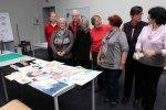 ausgelassene Stimmung zum Workshopende in der Kreativwerkstatt Alte und Neue Meister Schwerin (c) Frank Koebsch