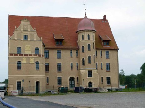 Das Bützower Schloß wird saniert (c) Frank Koebsch (1)