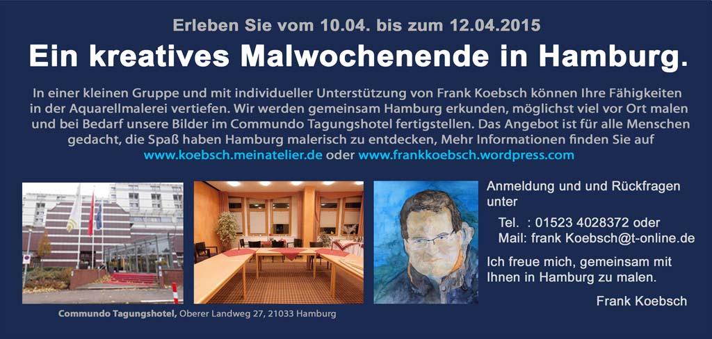 Kreatives Malwochenende mit Frank Koebsch in Hamburg (2)