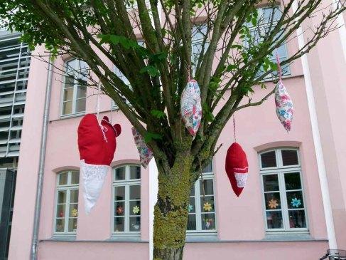 Kreatives vor der Bützower Grundschule (c) FRank Koebsch (1)