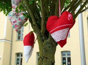 Kreatives vor der Bützower Grundschule (c) FRank Koebsch