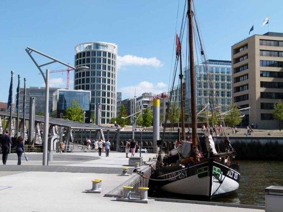 Museumshafen in der Hamburger Hafencity (c) Frank Koebsch