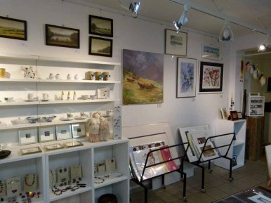 unsere Winteraquarell in der Galerie Severina (c) FRank Koebsch (2)