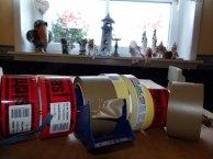 verschiedene Klebebänder für die Verpackung (c) Frank Koebsch (2)