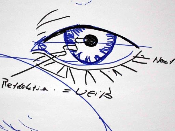 Wie malt man ein Auge(c) FRank Koebsch