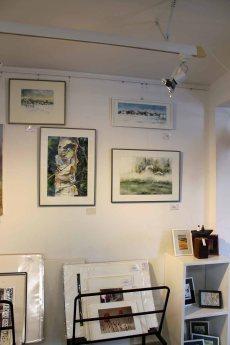 Wildlife und Winteraquarelle von Hanka & Frank Koebsch in der Galerie Severina (1)