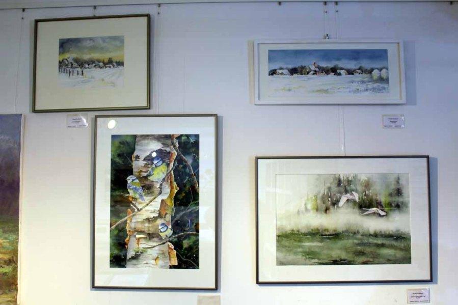 Wildlife und Winteraquarelle von Hanka & Frank Koebsch in der Galerie Severina (2)