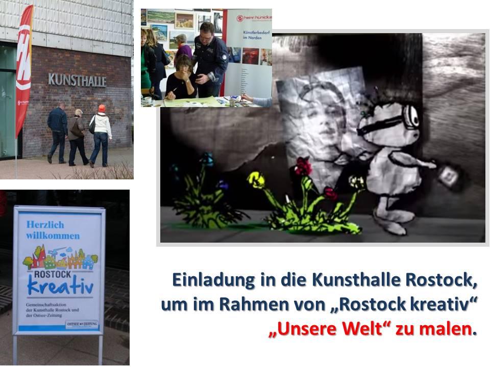 """Wir malen unsere Welt in Rahmen von """"Rostock Kreativ"""""""