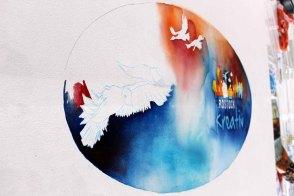 Die Leinwand für Rostock Kreativ 2015 ensteht (c) Frank Koebsch (8)