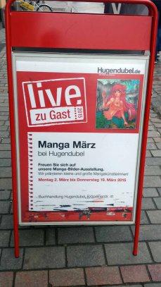 Manga März bei Hugendubel Rostock (c) Frank Koebsch