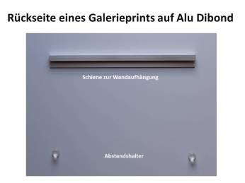 Rückseite eines Galerieprints auf Alu Dibond (c) Frank Koebsch