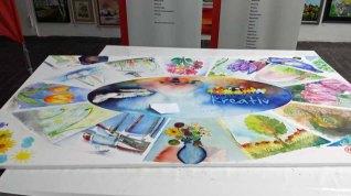 Unser fertiges Aquarell- Rostock kreativ 2015 (3)