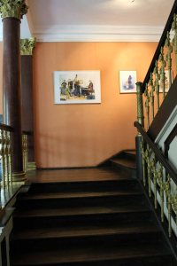 Aquarelle von Hanka u Frank Koebsch im Schloß Griebenow (4)