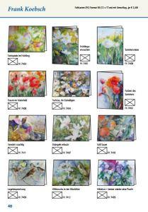 Faltkarten von Hanka und Frank Koebsch im Frühlingsprogramm 2015 des Präsenz Verlages