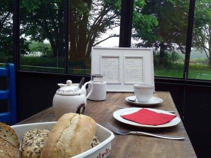 Frühstück in der Alten Büdnerei Kühlungsborn (2)