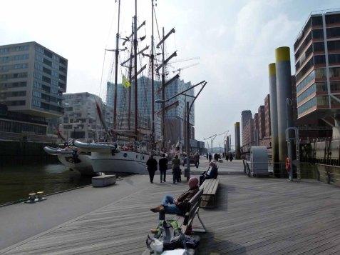 Malreise Hamburg - Museumshafen in der Hamburger Hafen City (c) Frank Koebsch