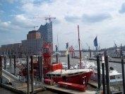 Malreise Hamburg - unser Motiv das Feuerschiff (c) Cornelia Pirl