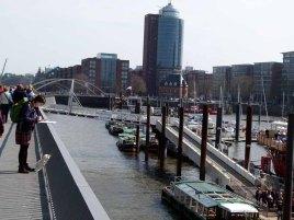 Malreise nach Hamburg - Malen an den Elbpromenaden beim Feuerschiff (c) Frank Koebsch (1)