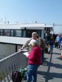 Malreise nach Hamburg - Malen an den Elbpromenaden beim Feuerschiff (c) Frank Koebsch (2)