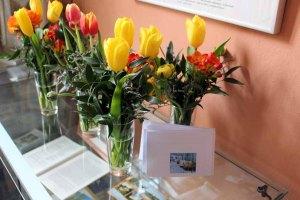 Willkommensgruß für unsere Ausstellung im Schloss Griebenow (c) Frank Koebsch (1)
