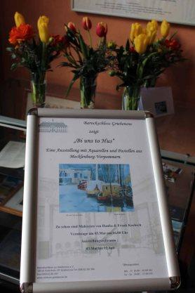 Willkommensgruß für unsere Ausstellung im Schloss Griebenow (c) Frank Koebsch (3)
