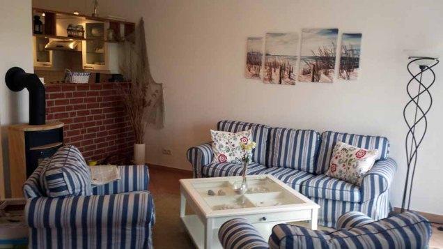 Ferienwohnung Wigbold in Middelhagen - Wohnbereich (c) Frank Koebsch