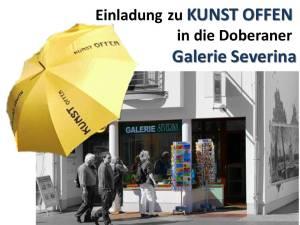 Kunst Offen 2015 mit Frank Koebsch in der Galerie Severina