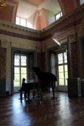 Musikalische Umrahmung unserer Ausstellung im Schloß Griebenow (c) Frank Koebsch