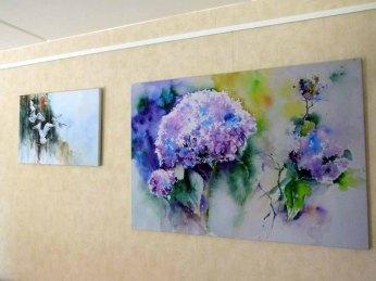 Zwei Drucke unserer Aquarelle auf Leinwand (c) Frank Koebsch (3)