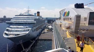AIDA am Cruise Terminal Ostseekai in Kiel (c) Frank Koebsch