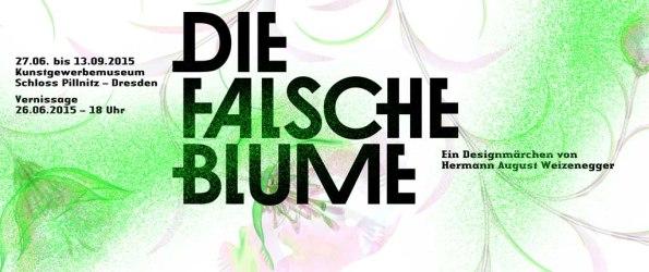 Die Falsche Blume – Ein Designmärchen von Hermann August Weizenegger