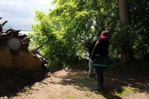 Erkunden der Motive im Park von Wiligrad (c) Frank Koebsch (3)