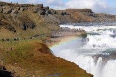 Gullfoss Wasserfall auf Island (c) Frank Koebsch